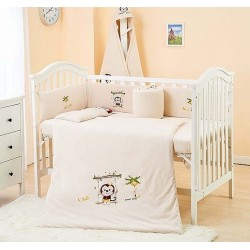 Lenny World Baby Knitted Bedding Set (9 pcs) - Active Monkey