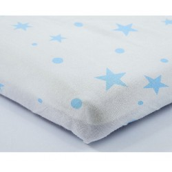 Lenny World Baby Muslin Fitted Sheet - Birdie Morning