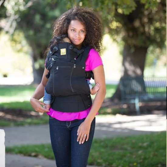 LILLE BABY COMPLETE All Seasons Baby Carrier - Black