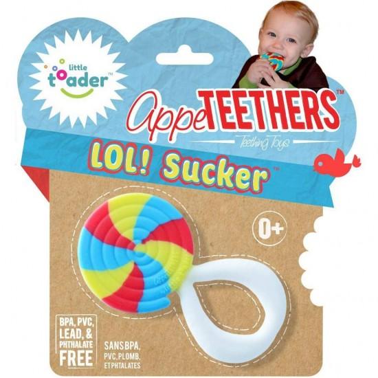 Little toader Teethers – LOL! Sucker