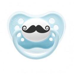 littlemico Pacifier 0-6m - Mustache
