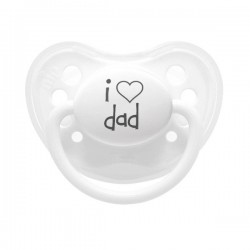 littlemico Pacifier 5m+ - I love dad