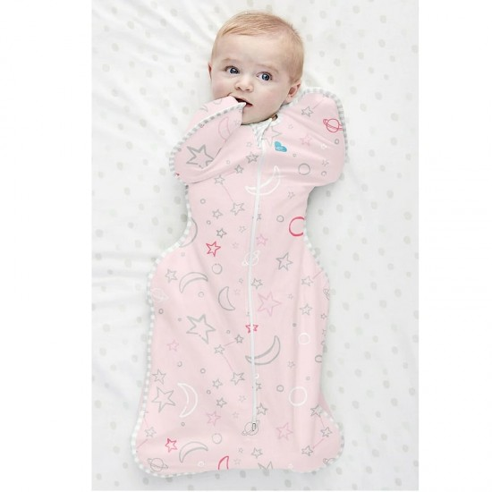 Love To Dream Swaddle Up Bamboo Pink (stage 1), 1.0 Tog