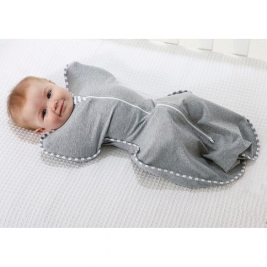 Love to Dream Swaddle Up Original Grey (stage 1) -  1.0 Tog