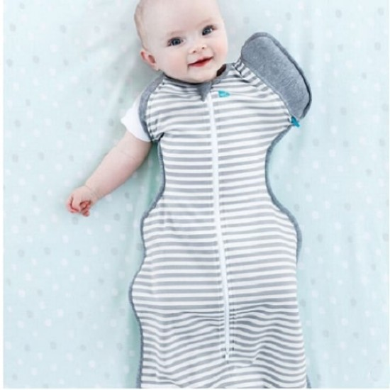 Love to Dream Swaddle Up 50/50 Transition Bag - Grey, 1.0 Tog