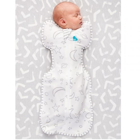Love To Dream Swaddle Up Bamboo Grey Star (stage 1), 1.0 Tog