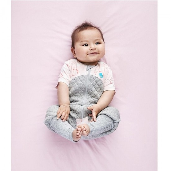 Love to Dream Sleep Suit - Pink Clouds