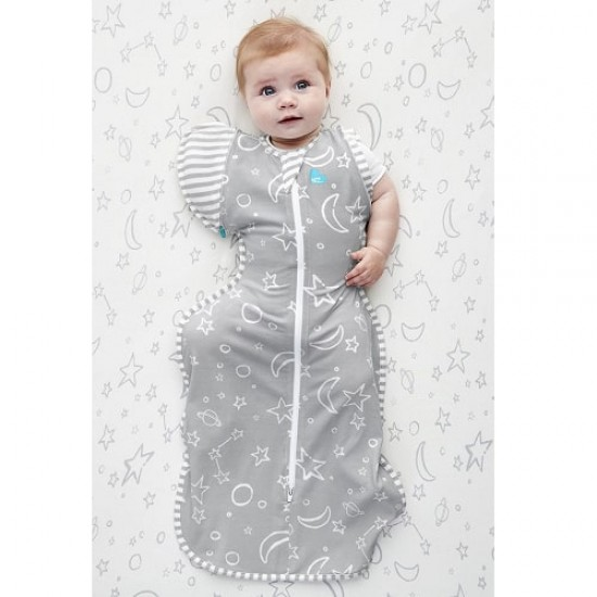 Love to Dream Swaddle Up 50/50 Transition Bag - Bamboo Grey, 1.0 Tog  (size L)