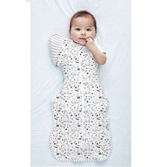 Love to Dream Swaddle Up 50/50 Transition Bag - Giraffiti (stage 2)