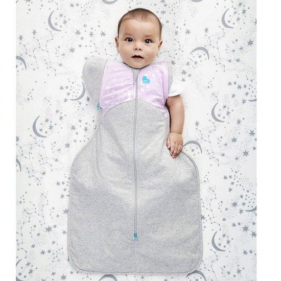 Love To Dream Swaddle Up 50/50 Transition Bag Warm - Lilac  2.5 Tog