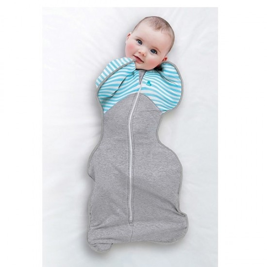 Love To Dream Swaddle Up Warm - Turquoise  (stage 1), 2.5 Tog