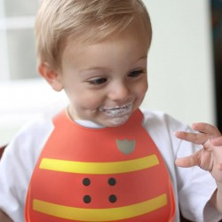 Make My Day Baby Bib - Fireman