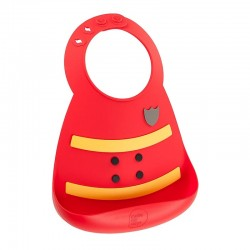 Make My Day Baby Bib - Fireman