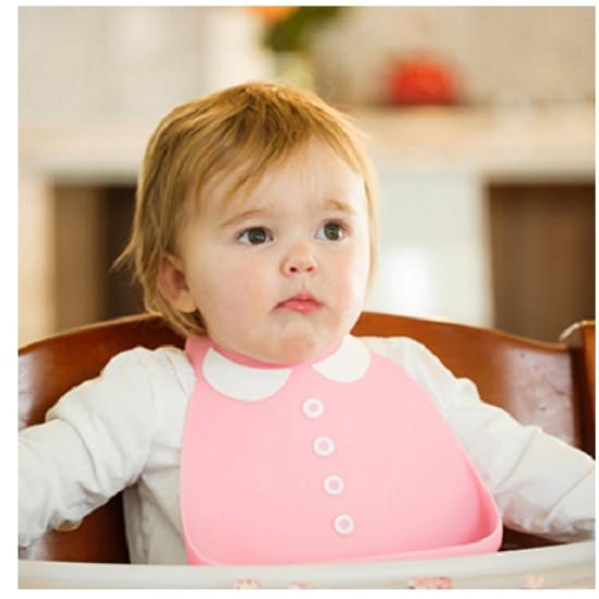 Make My Day Baby Bib - Peter Pan Collar