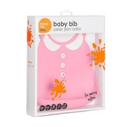 Make My Day Baby Bib - Peter Pan Collar