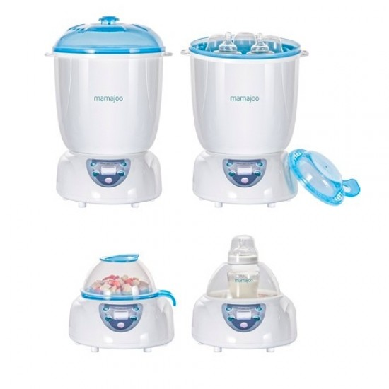 Mamajoo 5-in-1 Digital Steam Sterilizer and Warmer with Drier Function