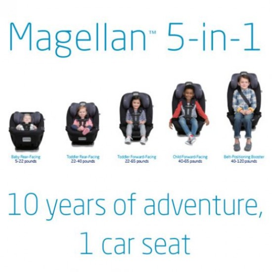 Maxi-Cosi Magellan All-in-One Convertible Car Seat - Midnight Slate (CC197ESE)