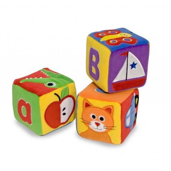 Melissa & Doug First Play - Soft ABC Blocks