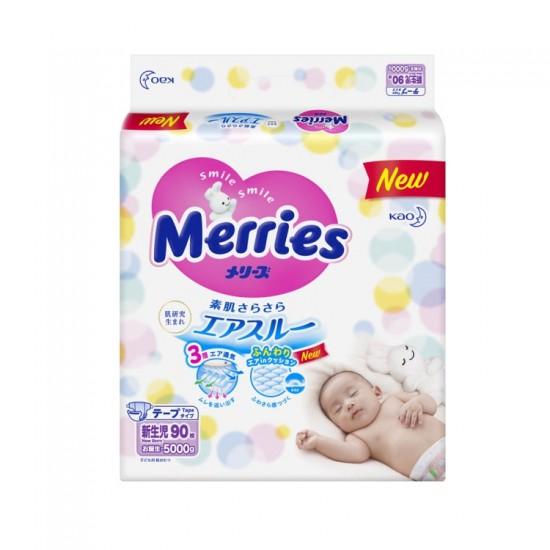 Merries nappies - New Born ( 90 pcs)