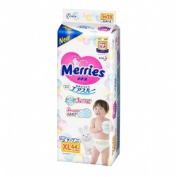 Merries nappies - Extra Large XL  (44 pcs)