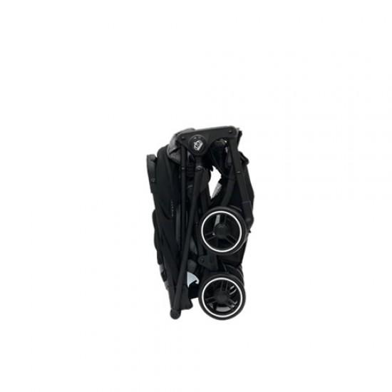 Mimosa Cabin City+ Backpack Stroller - Jet Set Black Mesh
