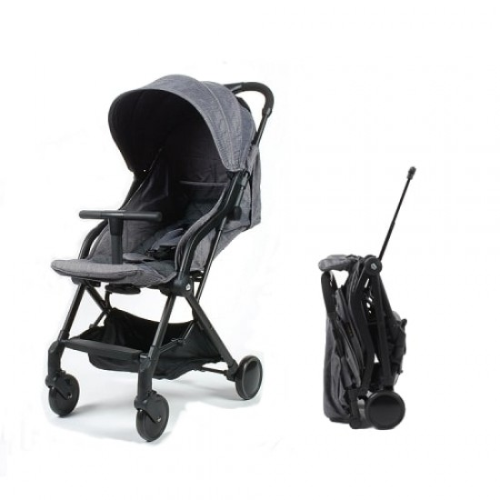 Mimosa Globetrotter Plus Travel Stroller - Platinum Greybl