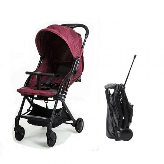 Mimosa Globetrotter Plus Travel Stroller - Maroobl