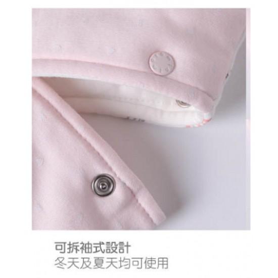 Minimoto Mini Garden series newborn sleeping bag with detachable sleeves