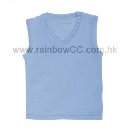 Minimoto Lamb cotton baby V-neck vest