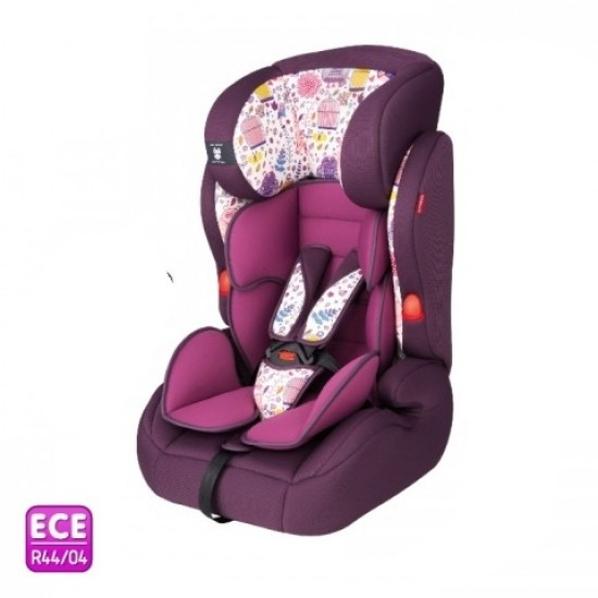 Minimoto Conventible Car Seat - Purple Bird