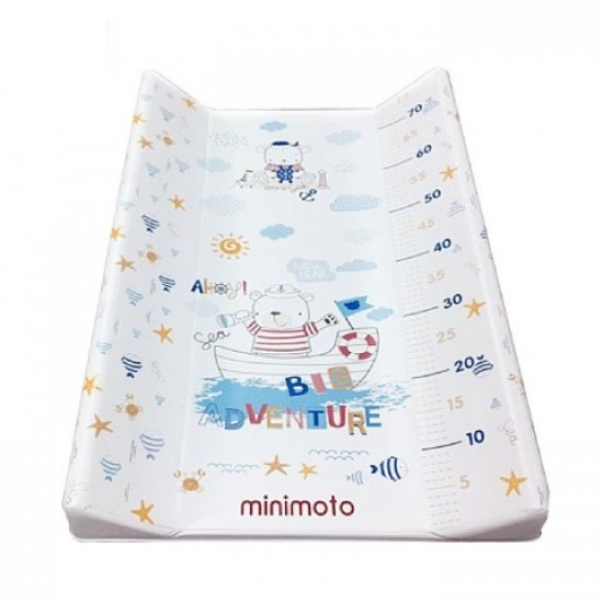 Minimoto Soft Changing Mat - Snow day