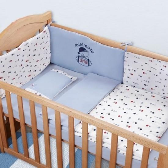 Minimoto Little athlete 7 pcs Baby Bed Set - Big Size