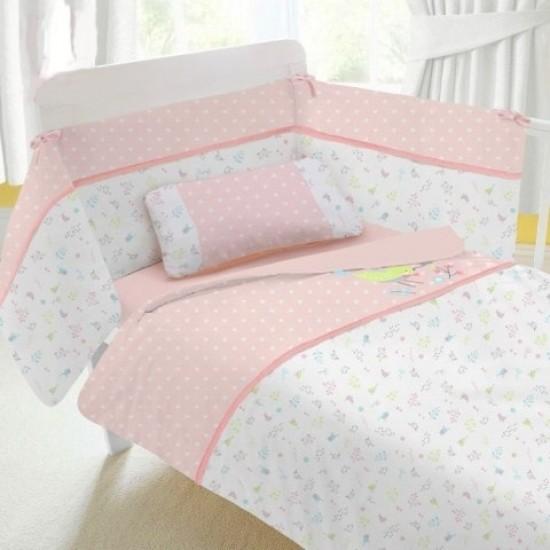 Minimoto Mini Garden 7 pcs Baby Bed Set - Big Size