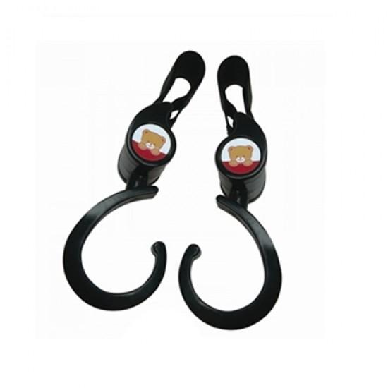 Minimoto Rotatable Hook - Black