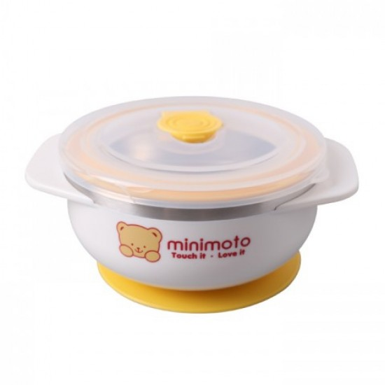Minimoto Stainless Bowl with Suction Bowl