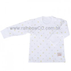 Minimoto Lamb Open Shoulder Top shirt (6-12 months)