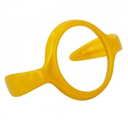 Minimoto Wide Neck bottle handle - Yellow