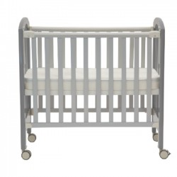 "Misuki Baby Cot (Grey) - 44.5 x 24"""