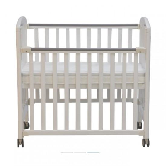 """Misuki Baby Cot (White) - 40 x 24"""""""