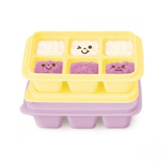Mother's Corn Silicone Freezer Cubes (Yellow & Lavender)