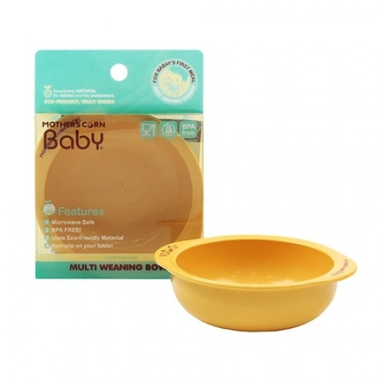 Mother's Corn Multi Weaning Bowl