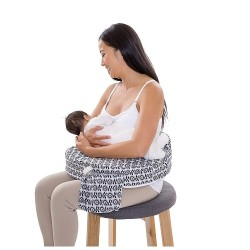 My Brest Friend Original Nursing Pillow - Flowing Fans (441)