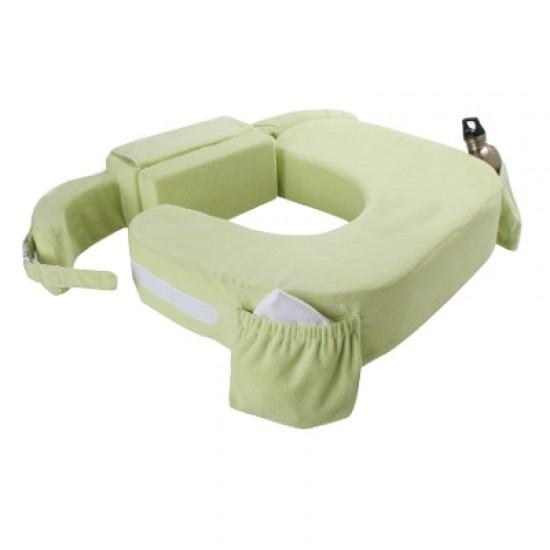 My Brest Friend Twins Plus Breastfeeding Pillow  - Green (600)
