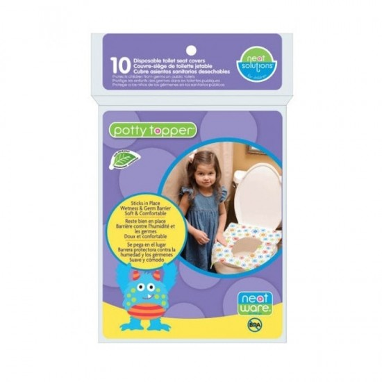 Neat Solutions Disposable Potty Topper - 10 pcs