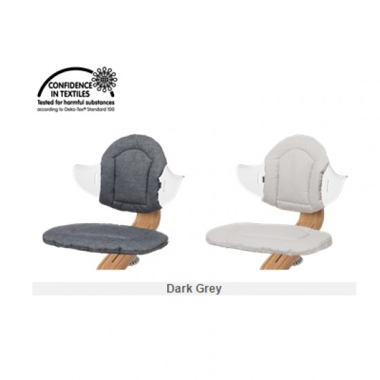 nomi Highchair cushion - Dark Grey