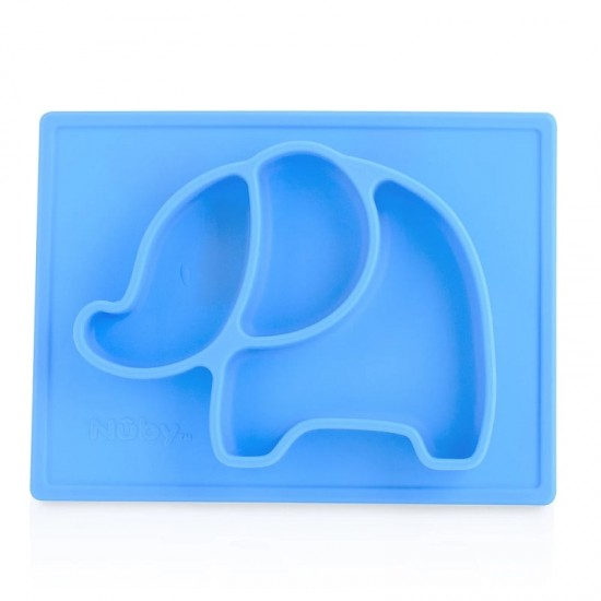 Nuby Sure Grip Miracle Mat Section Plate - Blue