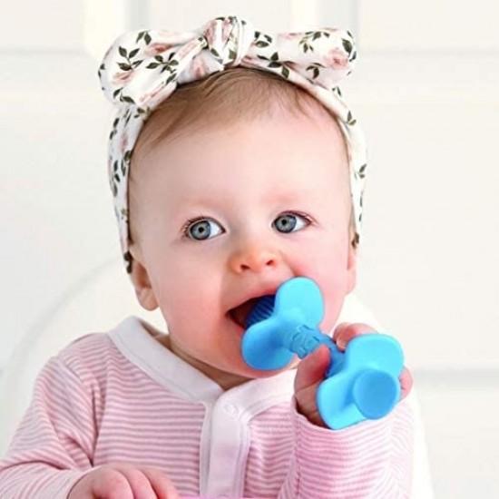 Nuby Dipeez Spoons - Blue & Pink