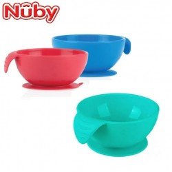 Nuby Sure Grip Silicone Suction Bowl