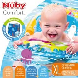 Nuby disposable swimming pants - Blue XL ( 3 pcs)