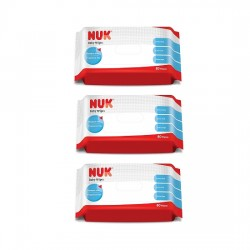 Nuk Baby Wipes - 80 pcs x 3